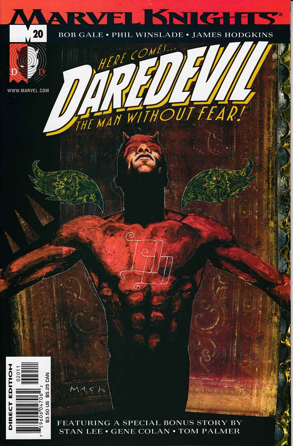 Daredevil #20 Very Fine Minus (7.5) [Marvel Comic] THUMBNAIL