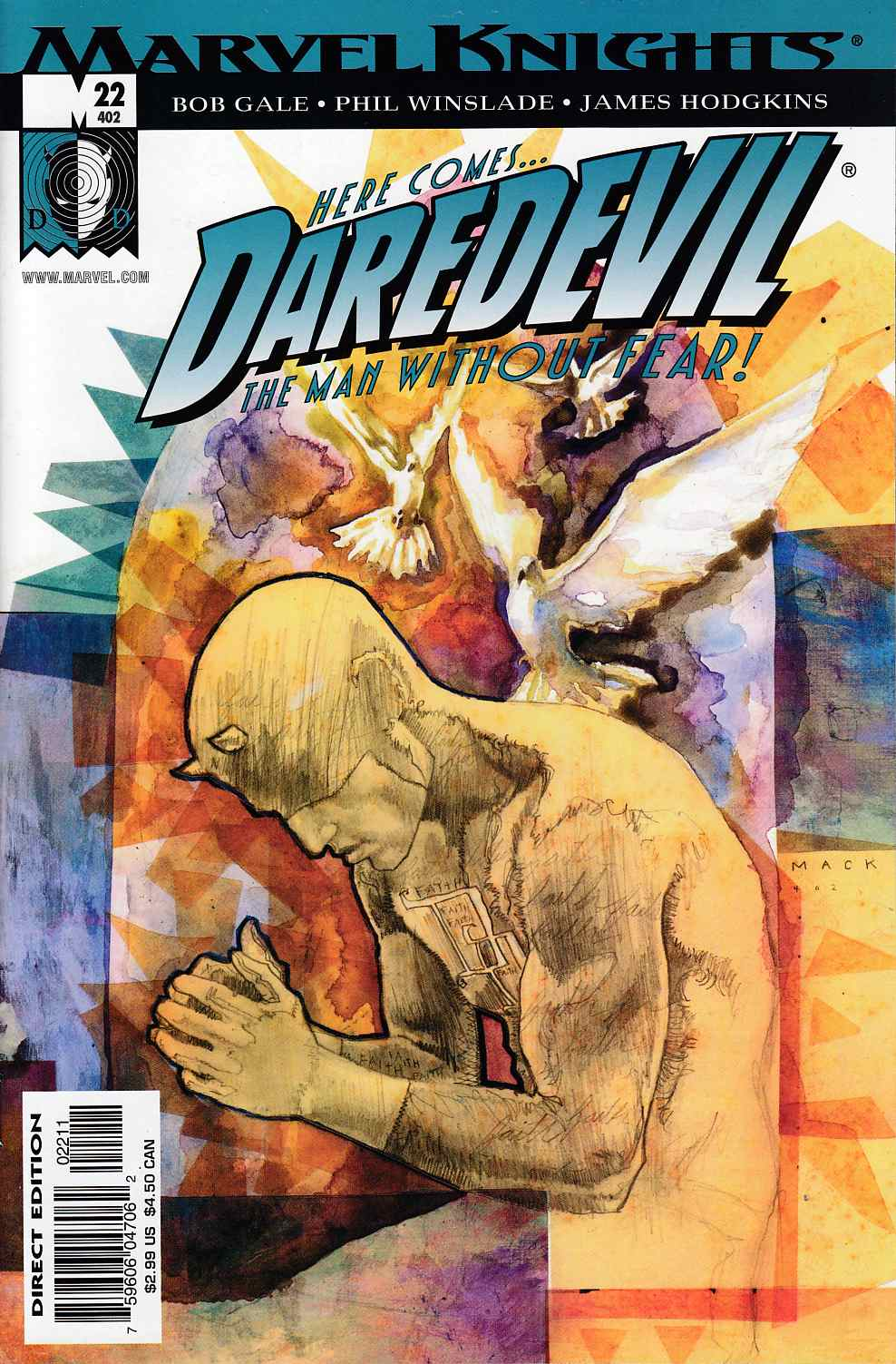 Daredevil #22 Near Mint (9.4) [Marvel Comic] THUMBNAIL