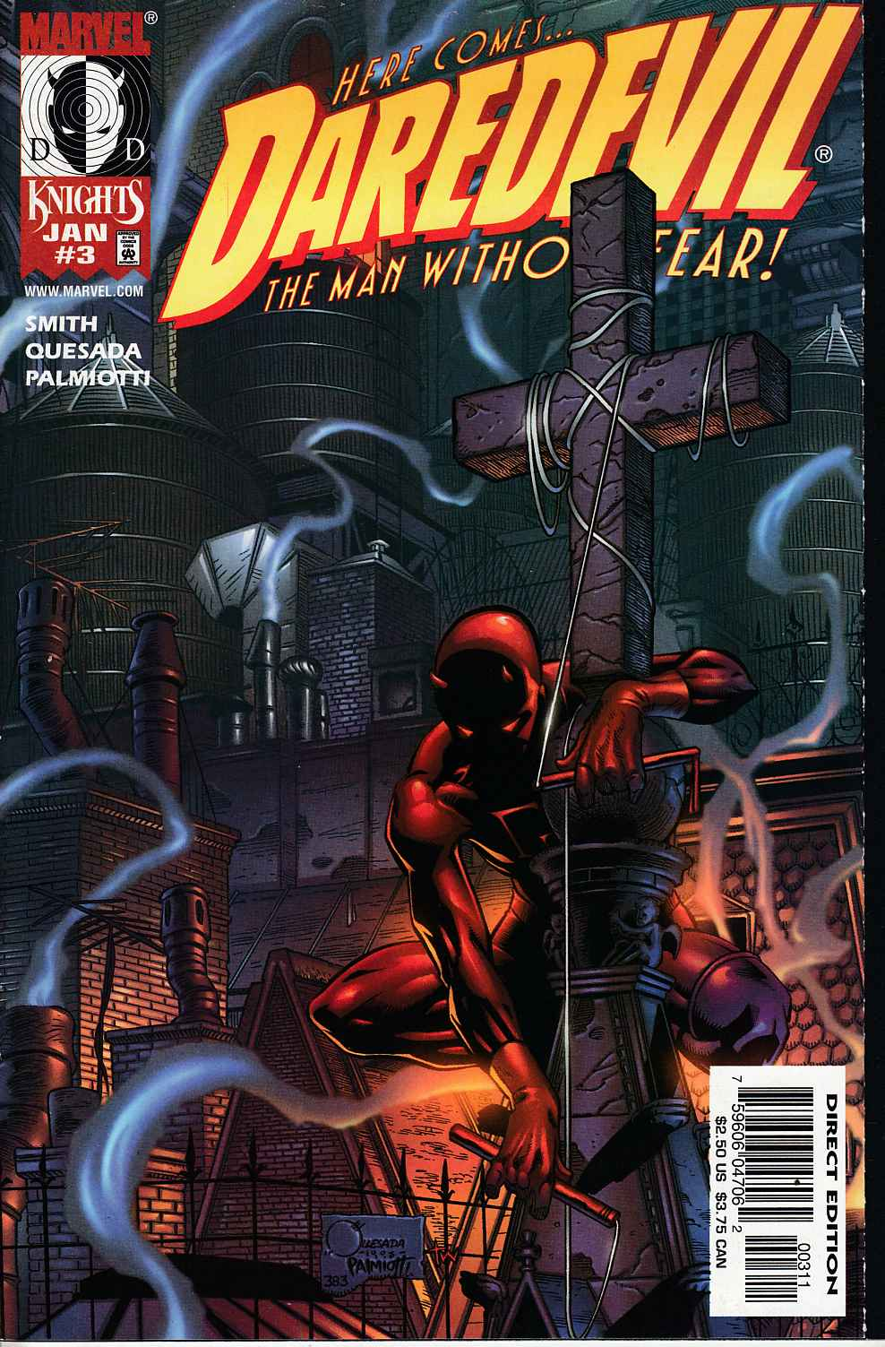 Daredevil #3 Near Mint (9.4) [Marvel Comic] THUMBNAIL