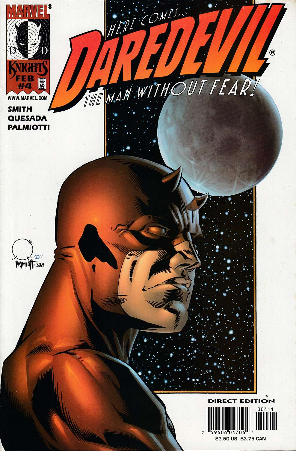 Daredevil #4 Near MInt (9.4) [Marvel Comic] THUMBNAIL