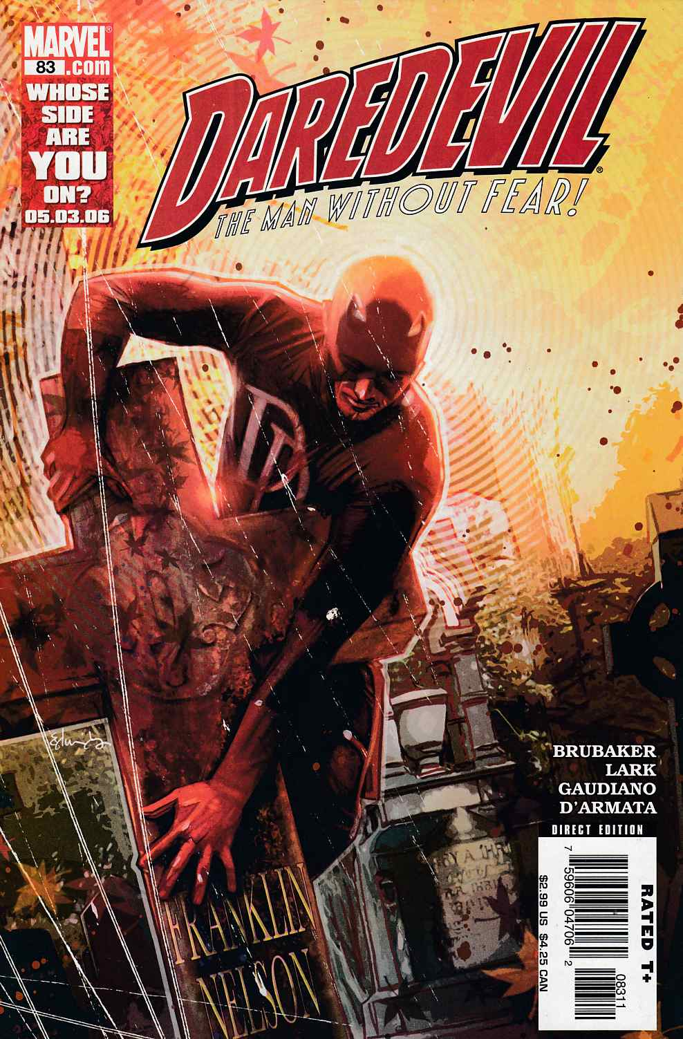 Daredevil #83 Very Fine (8.0) [Marvel Comic] LARGE