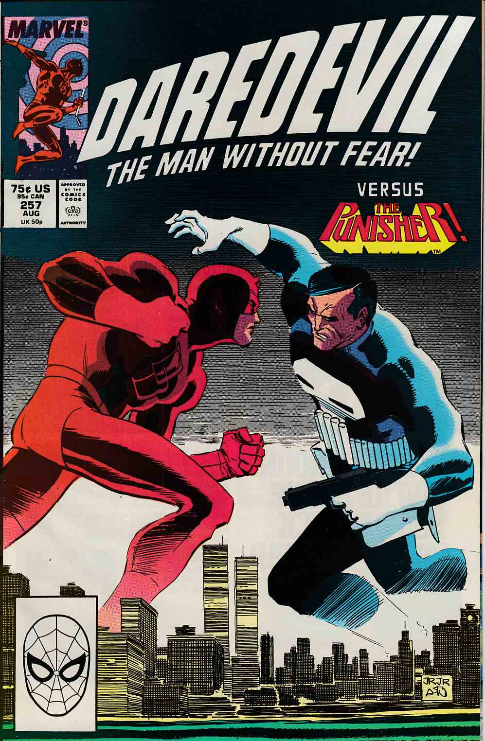 Daredevil #257 Fine (6.0) [Marvel Comic] LARGE