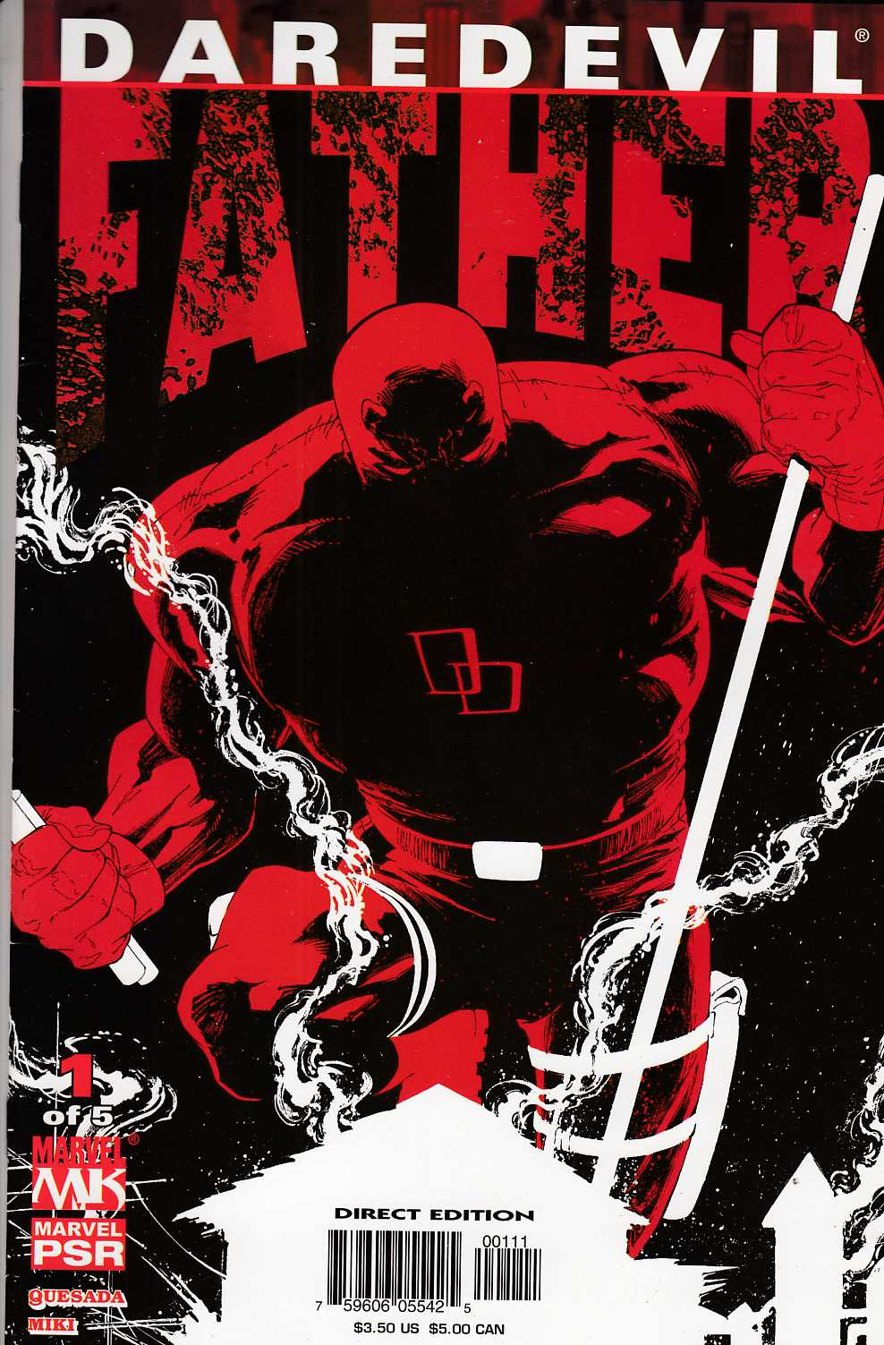 Daredevil Father #1 Very Fine (8.0) [Marvel Comic] THUMBNAIL