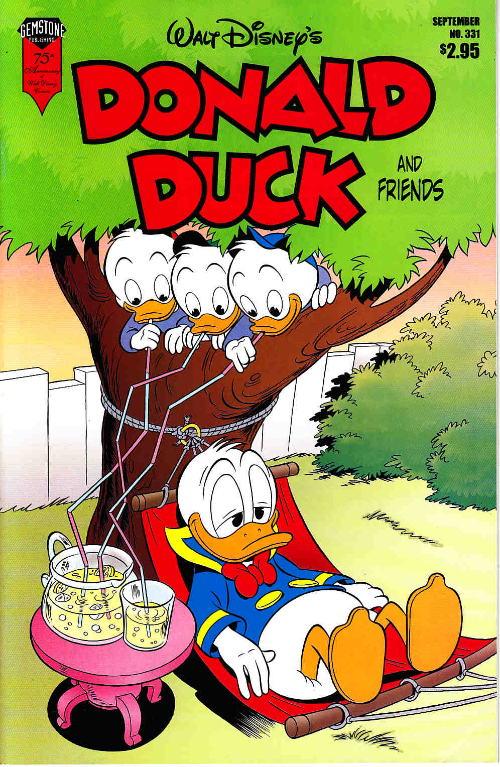 Donald Duck and Friends #331 Very Fine Minus (7.5) [Gemstone Comic] THUMBNAIL