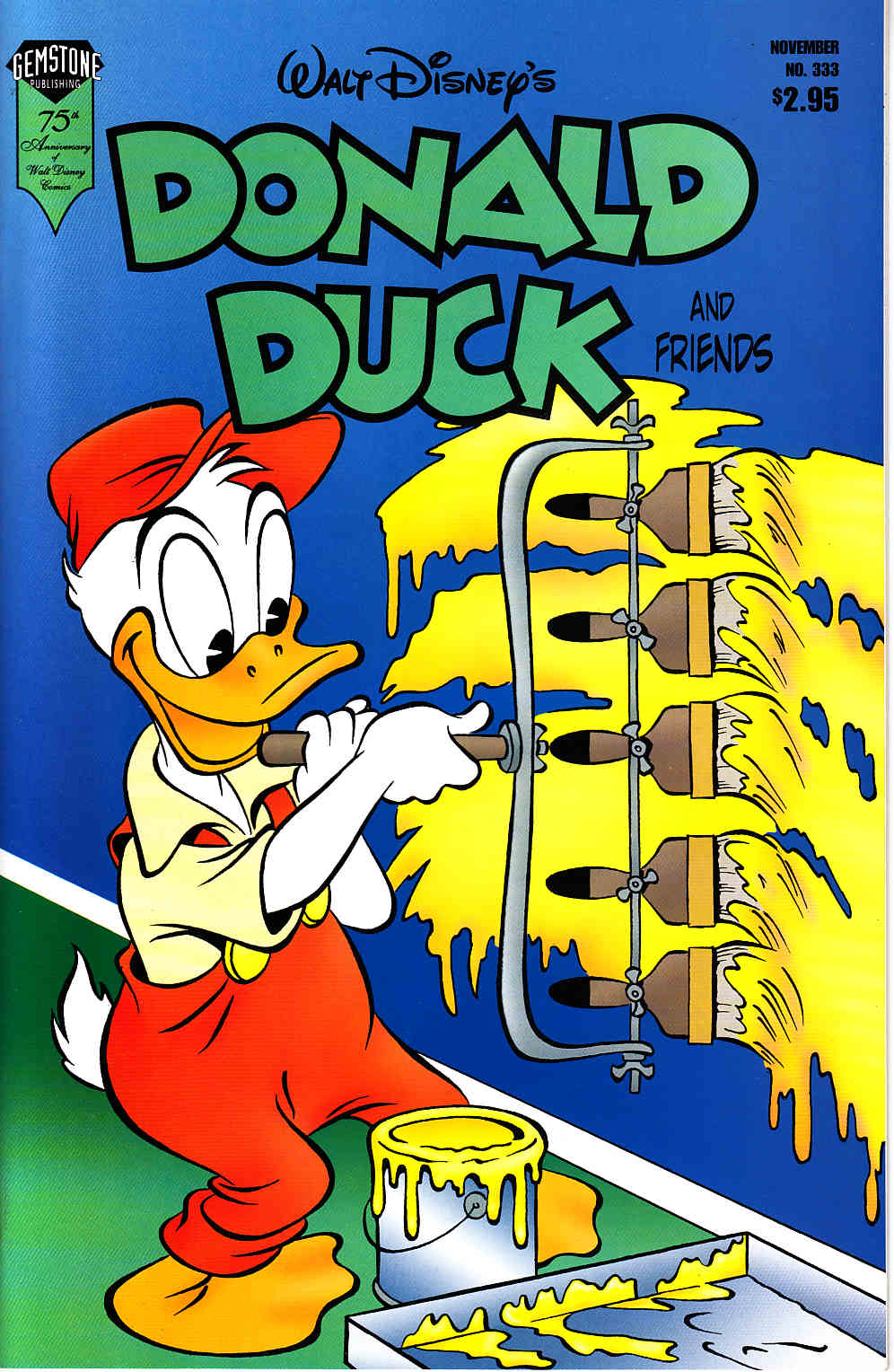 Donald Duck and Friends #333 Near Mint (9.4) [Gemstone Comic] THUMBNAIL