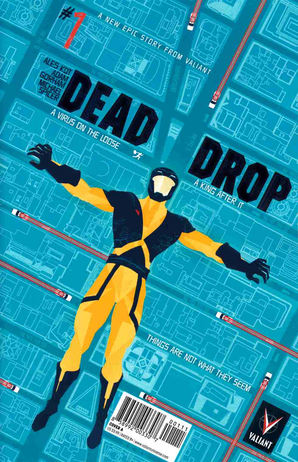 Dead Drop #1 Cover A- Allen [Valiant Comic] THUMBNAIL