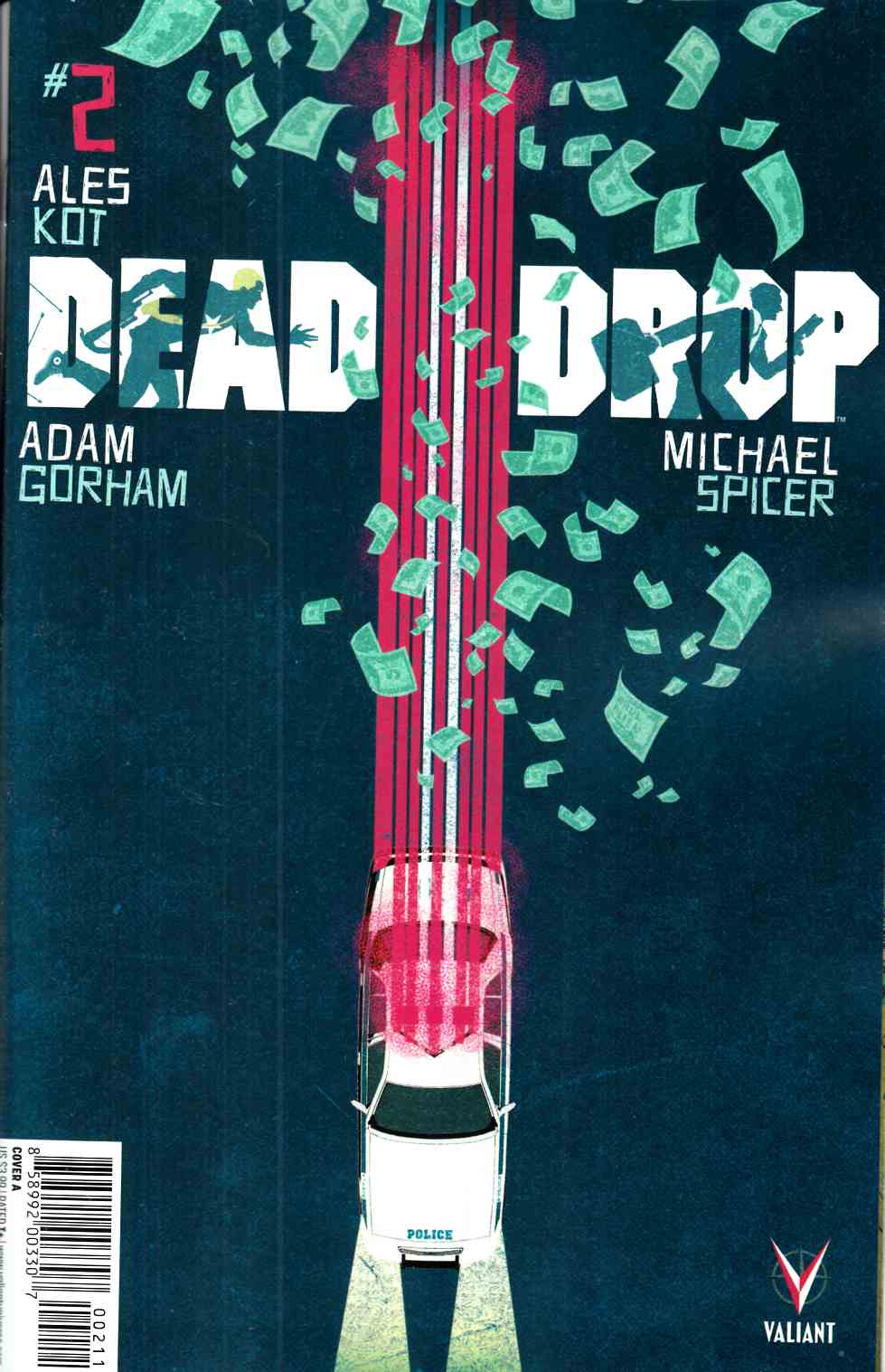 Dead Drop #2 Cover A- Allen [Valiant Comic] THUMBNAIL