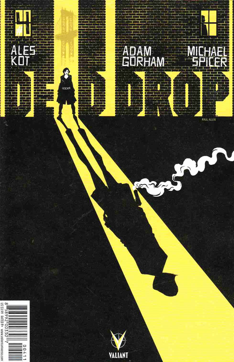 Dead Drop #4 [Valiant Comic] THUMBNAIL