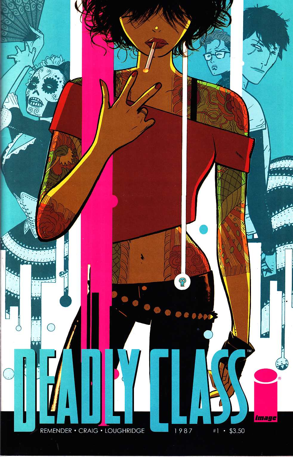 Deadly Class #1 Cover B [Image Comic] LARGE