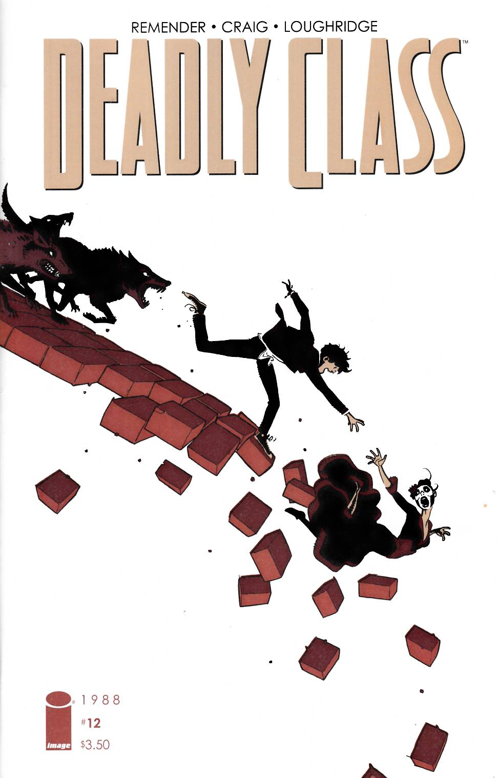 Deadly Class #12 Cover A- Craig [Image Comic]