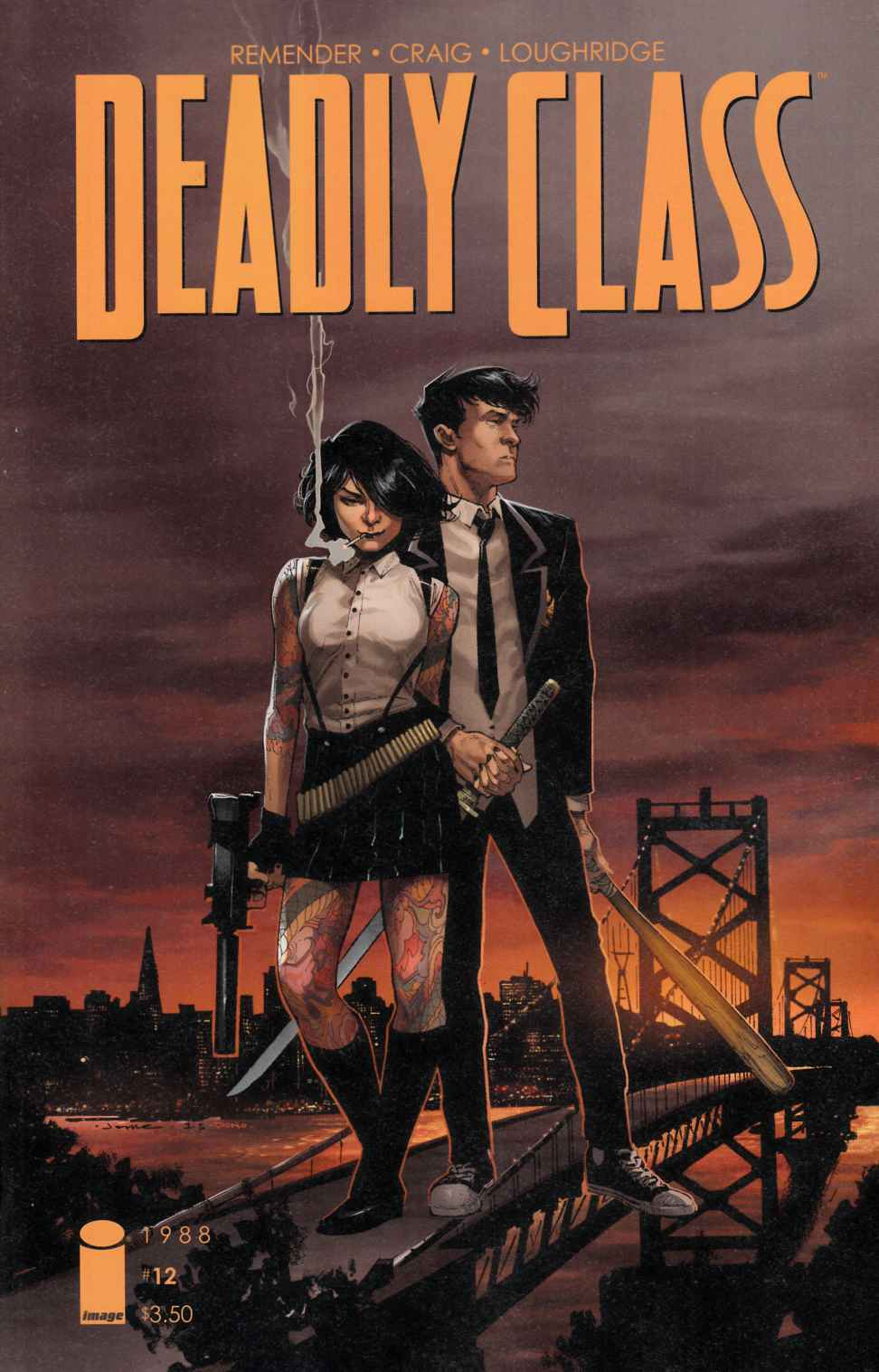 Deadly Class #12 Cover B- Opena [Image Comic]