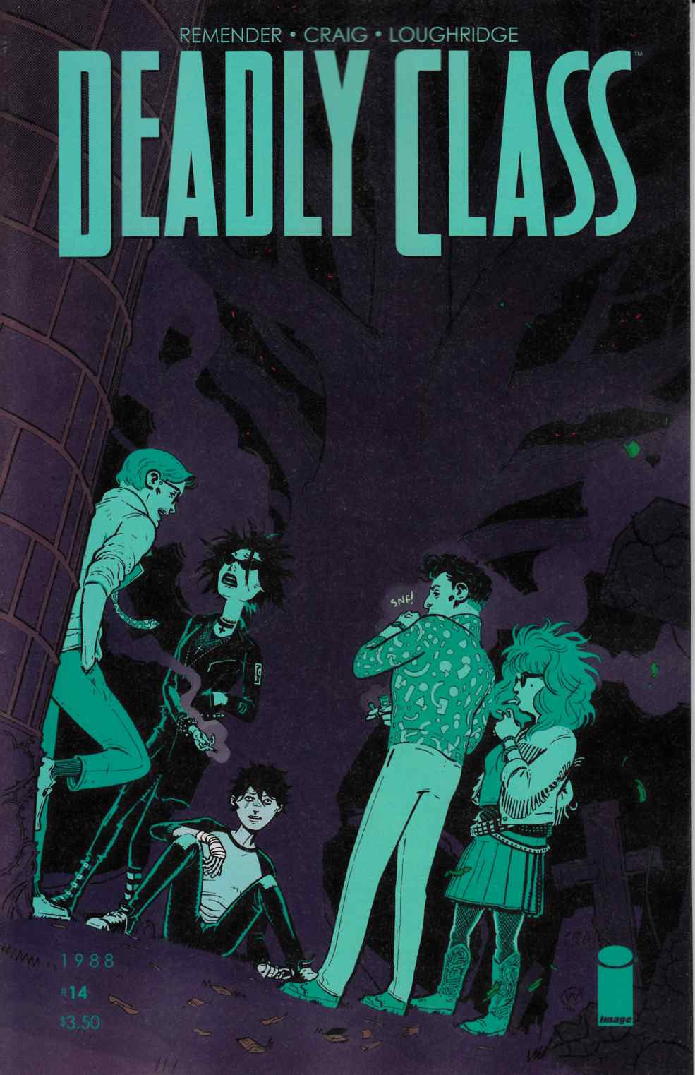 Deadly Class #14 [Image Comic]