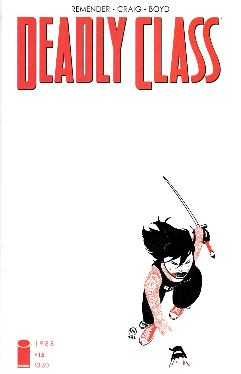 Deadly Class #15 [Image Comic]