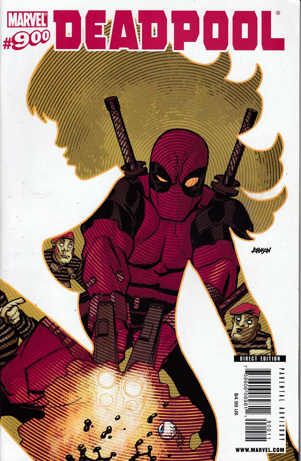 Deadpool #900 FIne (6.0) [Marvel Comic]