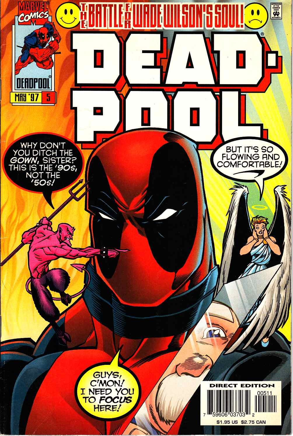 Deadpool #5 Fine (6.0) [Marvel Comic] THUMBNAIL
