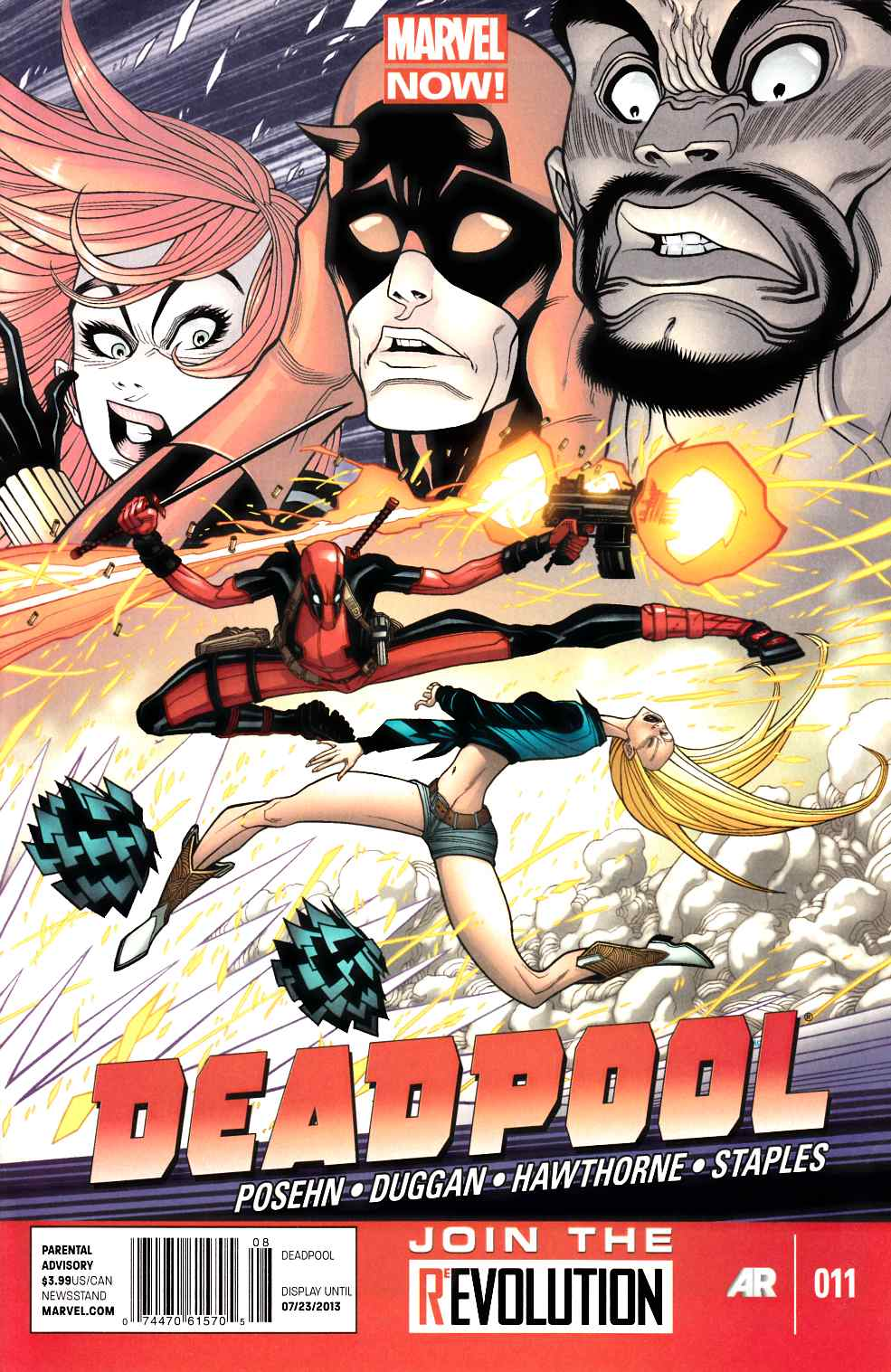 Deadpool #11 $3.99 Newsstand Edition (Now) [Comic] THUMBNAIL