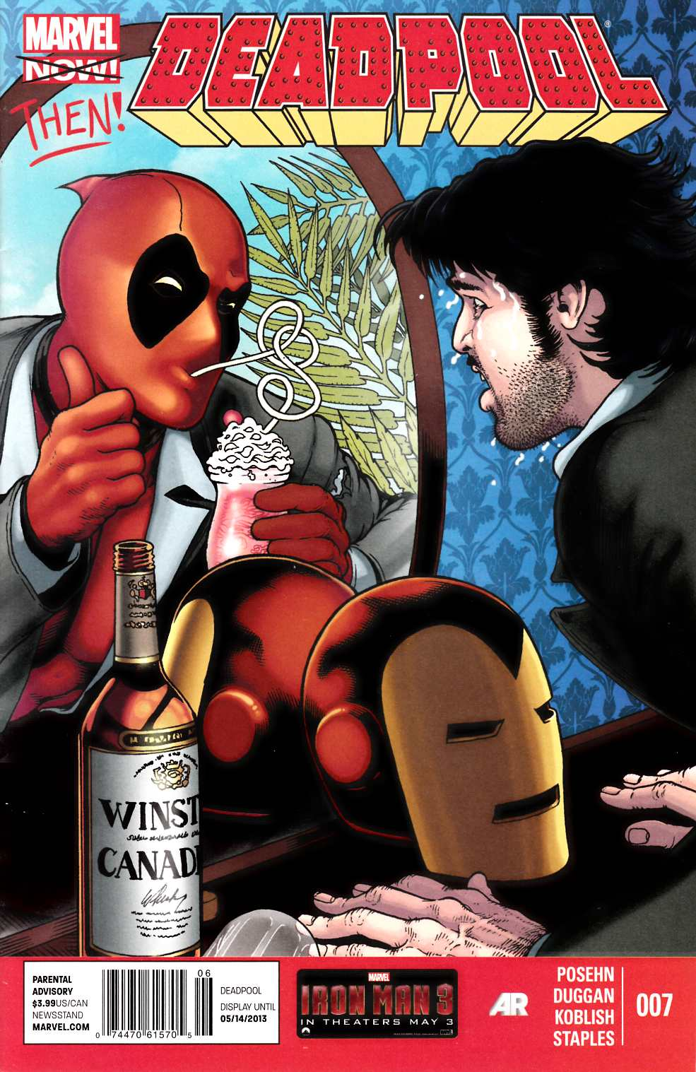 Deadpool #7 $3.99 Newsstand Edition (Now) [Comic] THUMBNAIL
