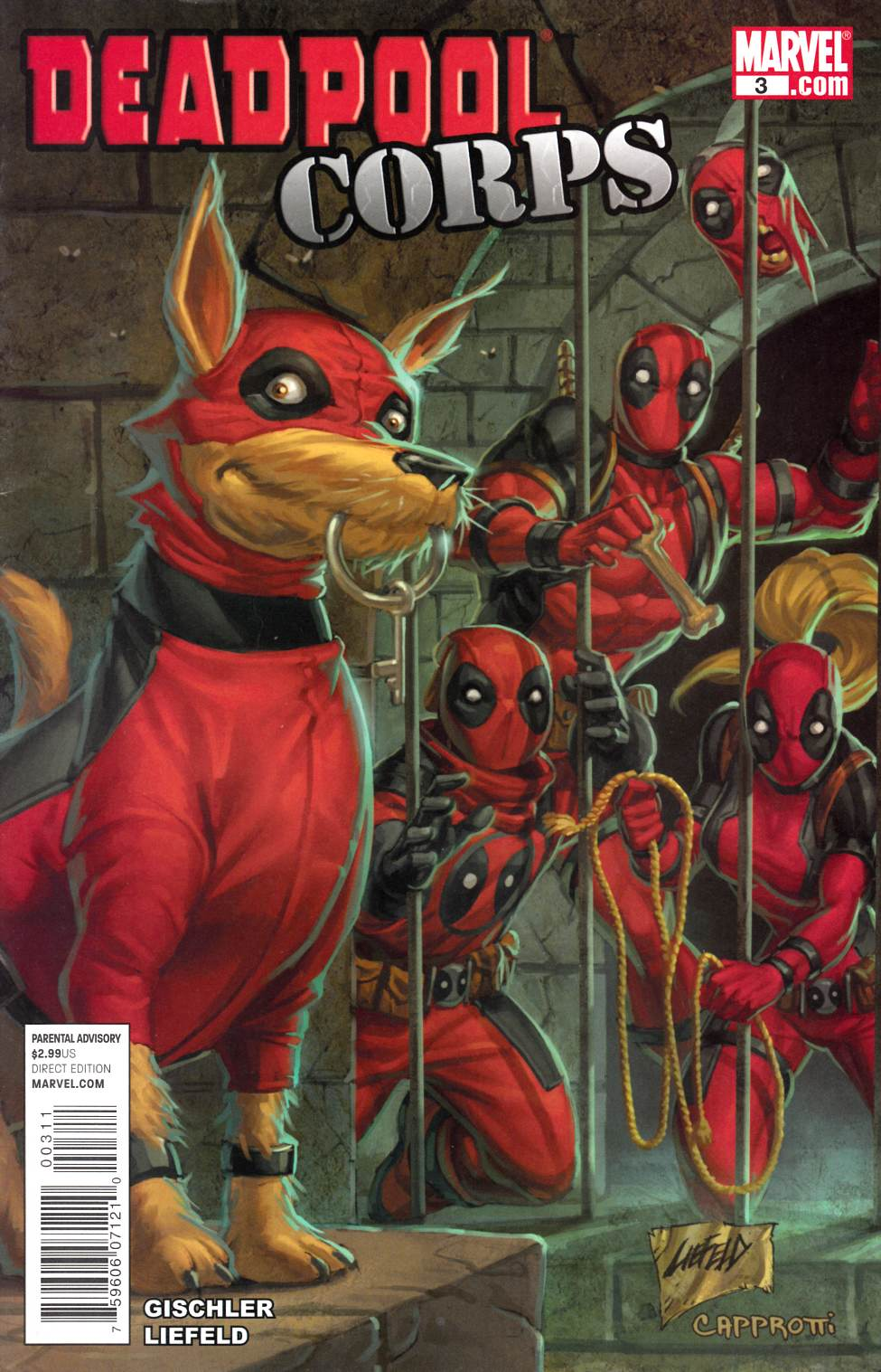 Deadpool Corps #3 [Marvel Comic] THUMBNAIL