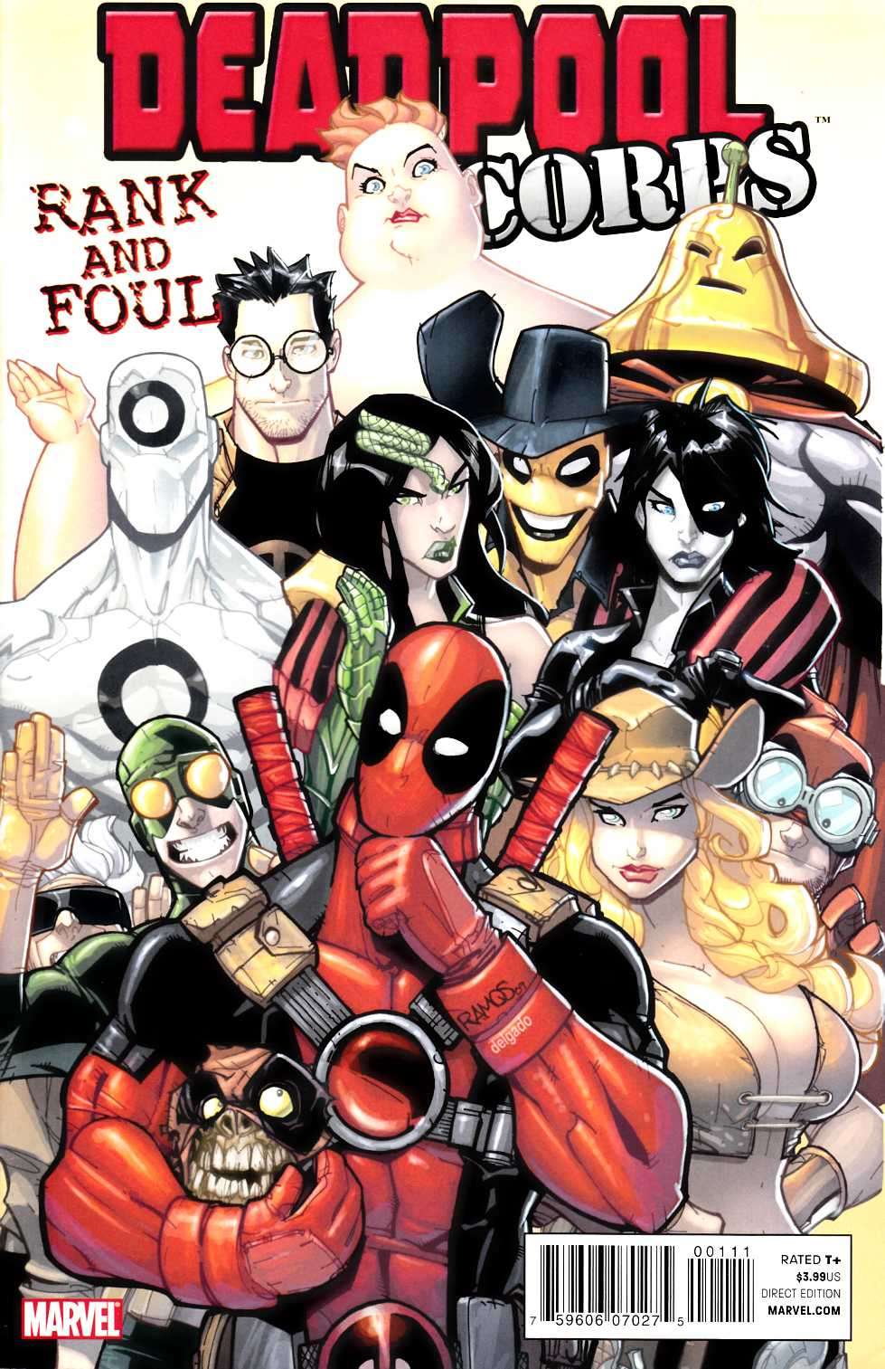 Deadpool Corps Rank and Foul #1 [Marvel Comic] THUMBNAIL