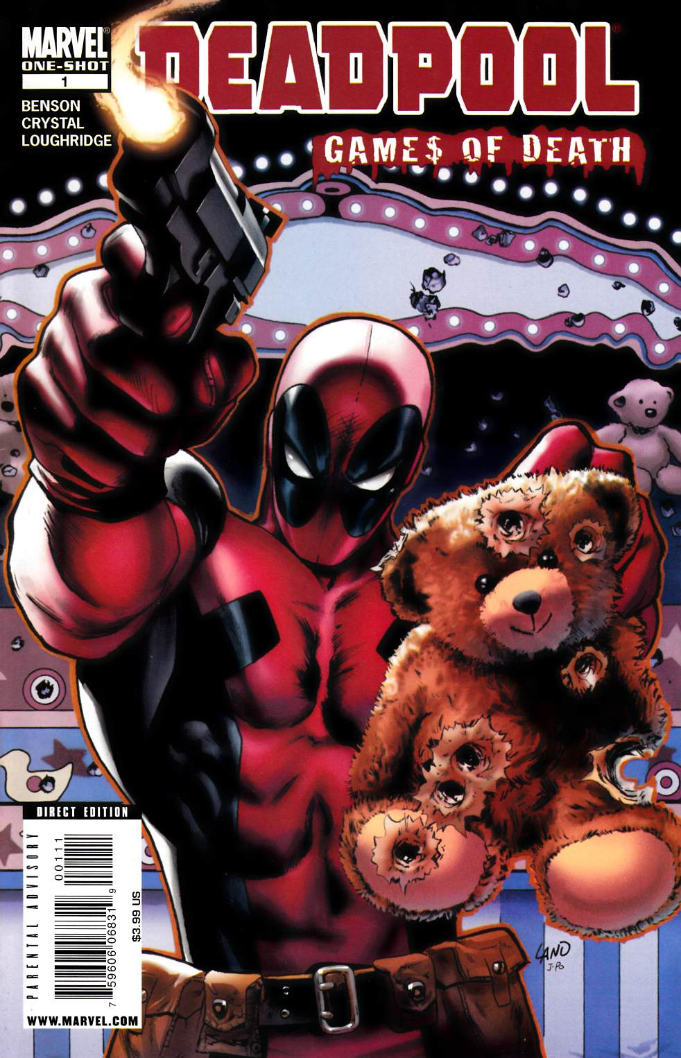 Deadpool Games of Death (One Shot) [Marvel Comic] THUMBNAIL