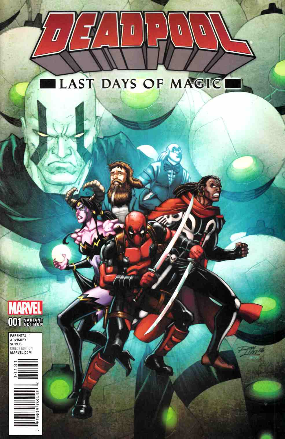 Deadpool Last Days of Magic #1 Lim Variant Cover [Marvel Comic]