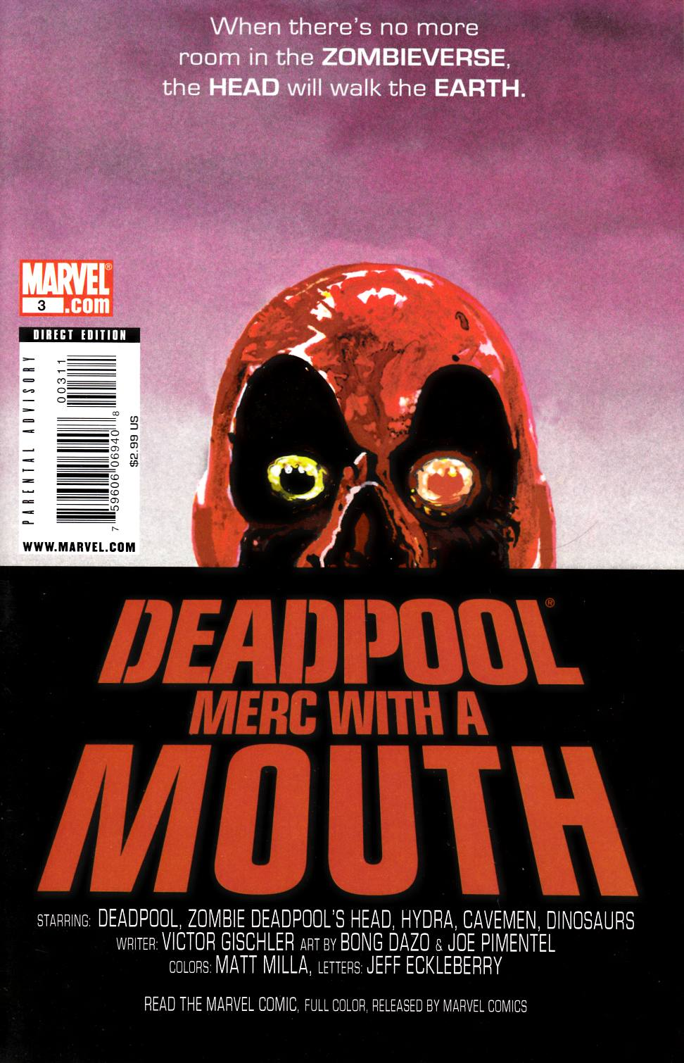 Deadpool Merc with a Mouth #3 [Comic] THUMBNAIL