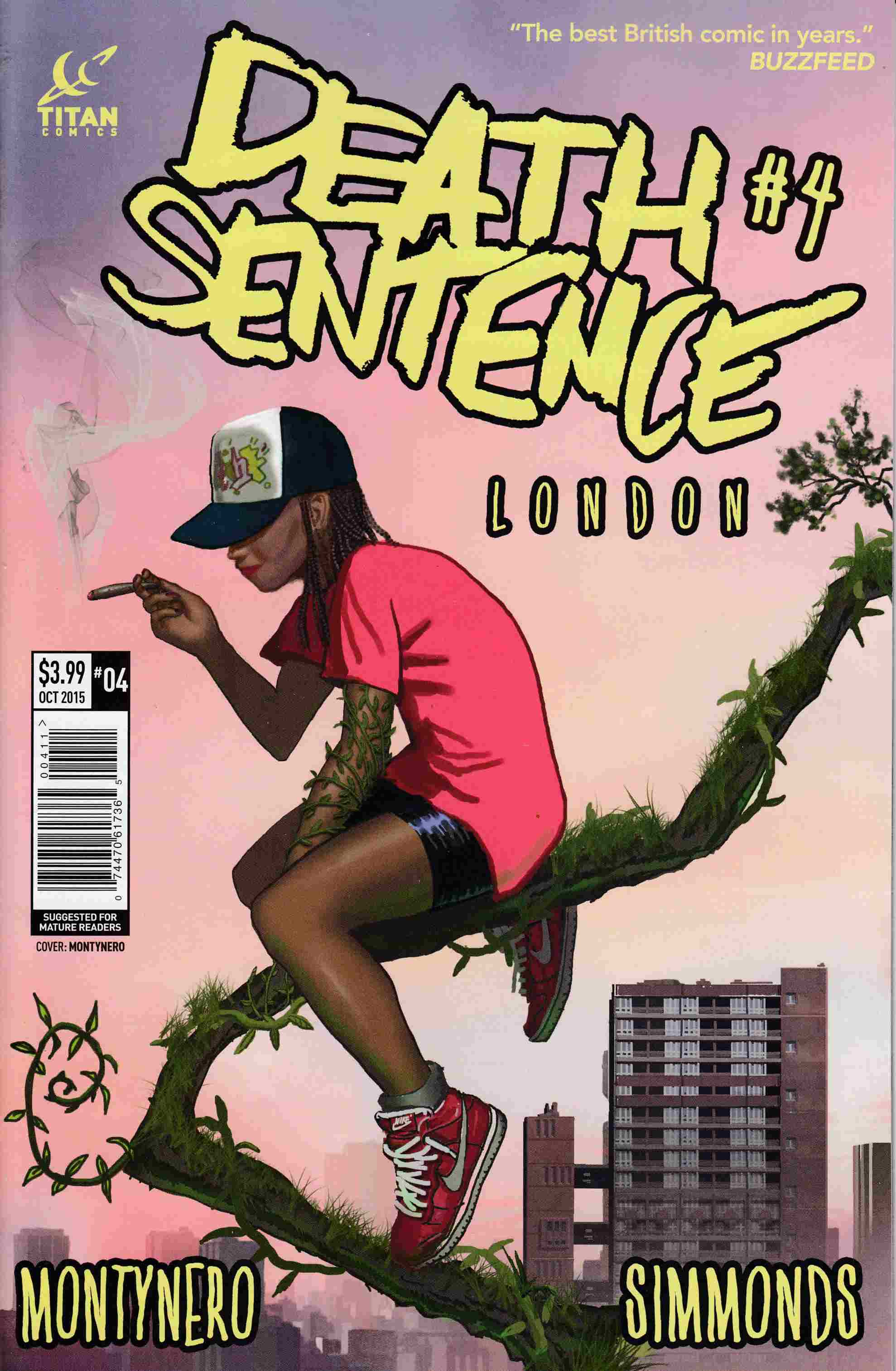 Death Sentence London #4 [Titan Comic]