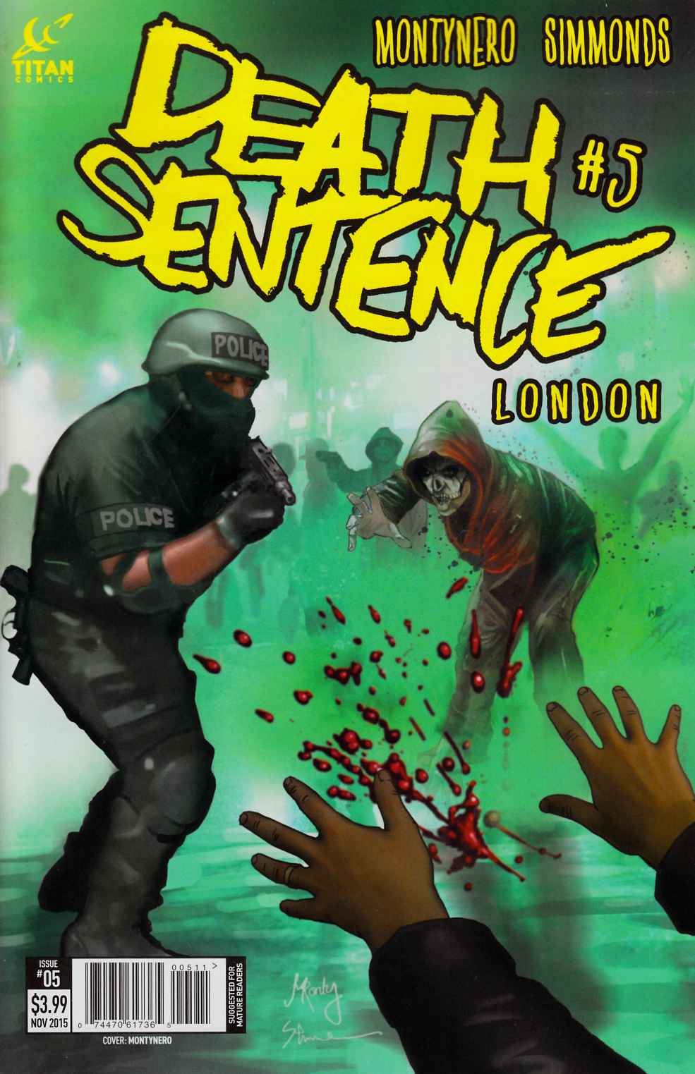 Death Sentence London #5 [Titan Comic]