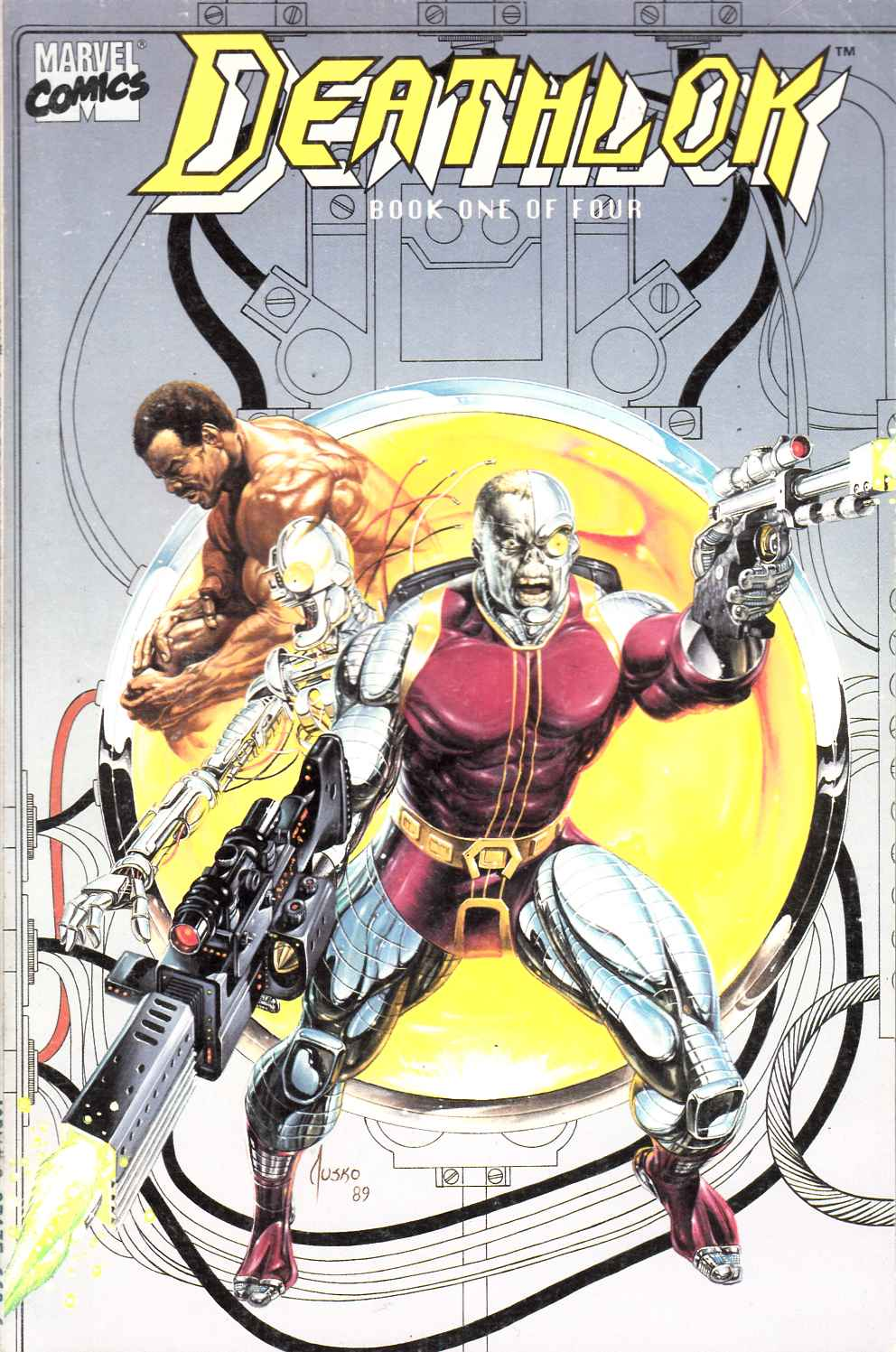 Deathlok #1 Fine (6.0) [Marvel Comic] LARGE