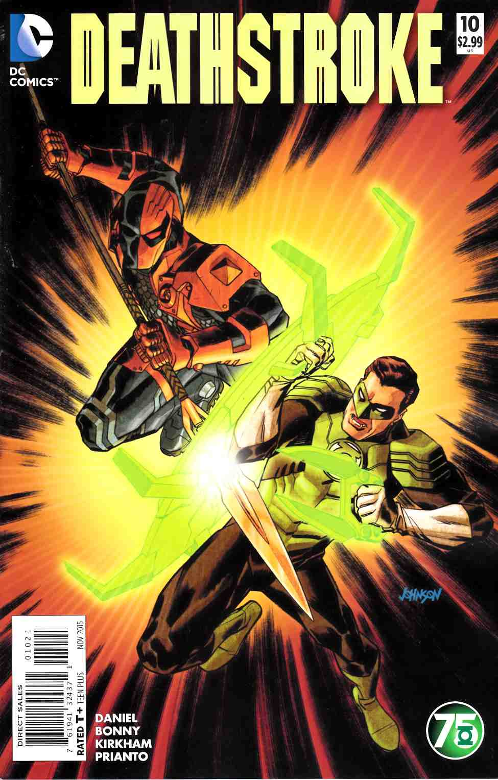 Deathstroke #10 Green Lantern 75th Variant Cover [DC Comic]_THUMBNAIL