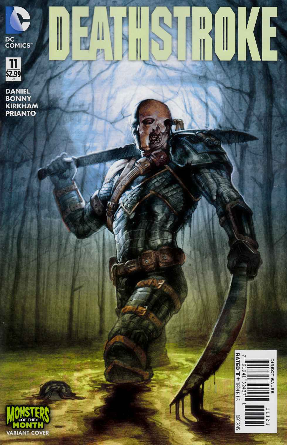 Deathstroke #11 Monsters Variant Cover [DC Comic]_THUMBNAIL