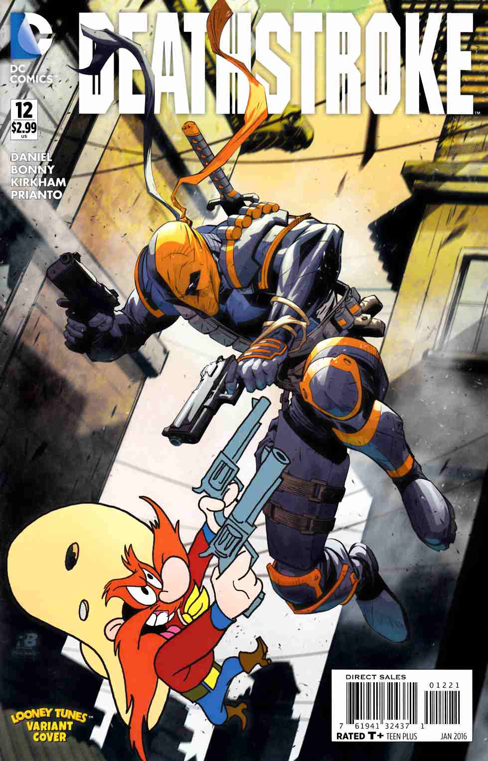 Deathstroke #12 Looney Tunes Variant Cover [DC Comic]_THUMBNAIL