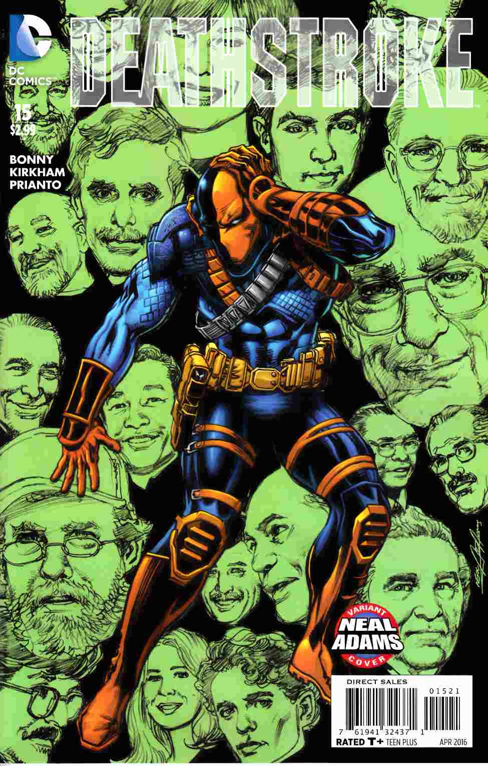 Deathstroke #15 Neal Adams Variant Cover [DC Comic]_THUMBNAIL