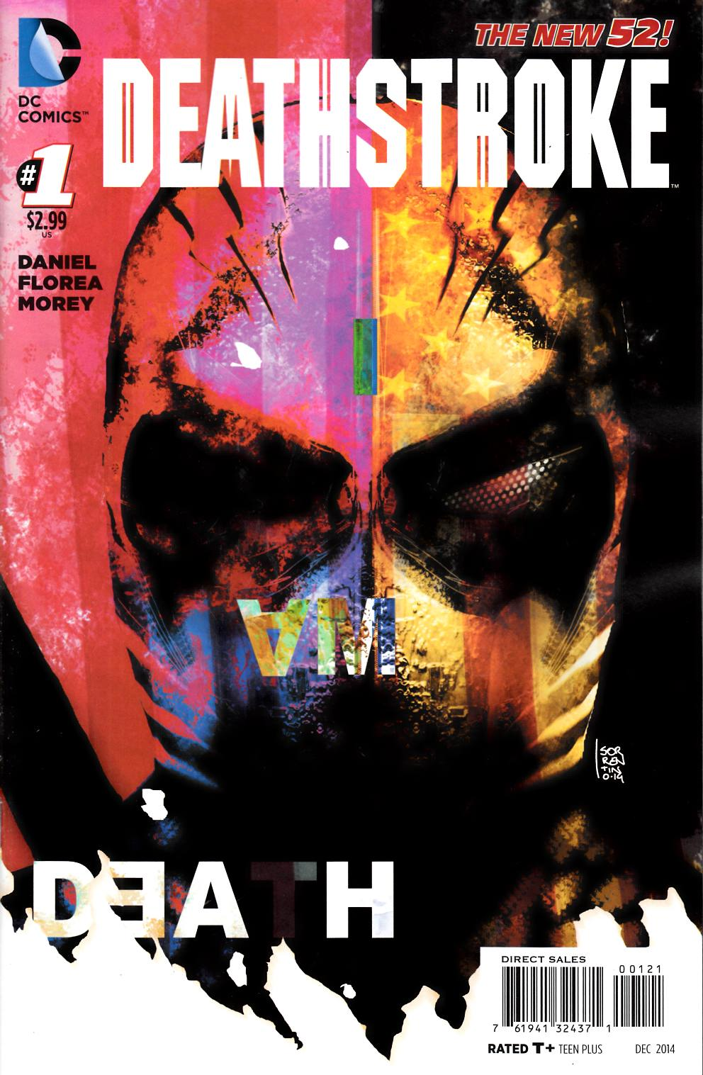 Deathstroke #1 Sorrentino Variant Cover [DC Comic]_THUMBNAIL