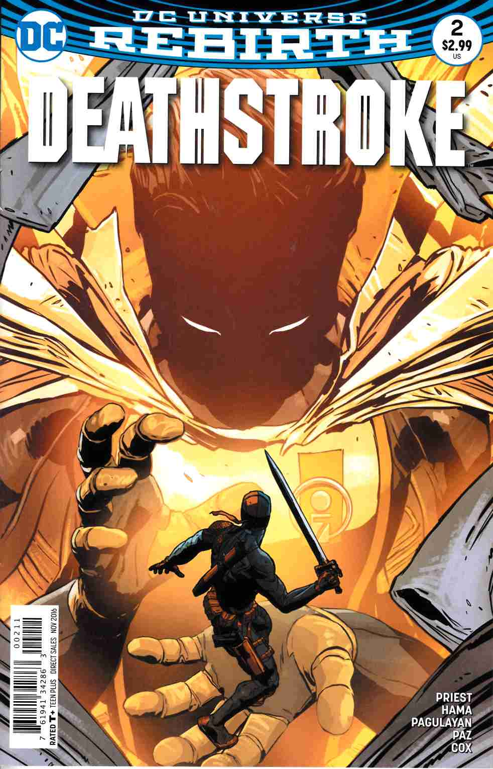 Deathstroke #2 [DC Comic] LARGE