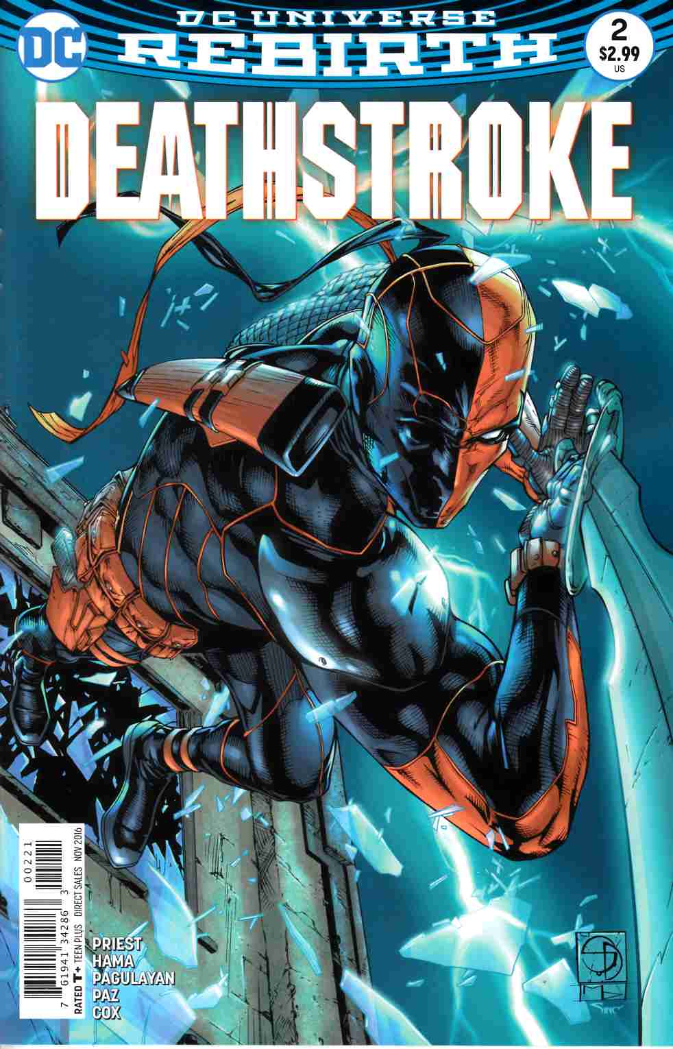 Deathstroke #2 Davis Variant Cover [DC Comic] LARGE