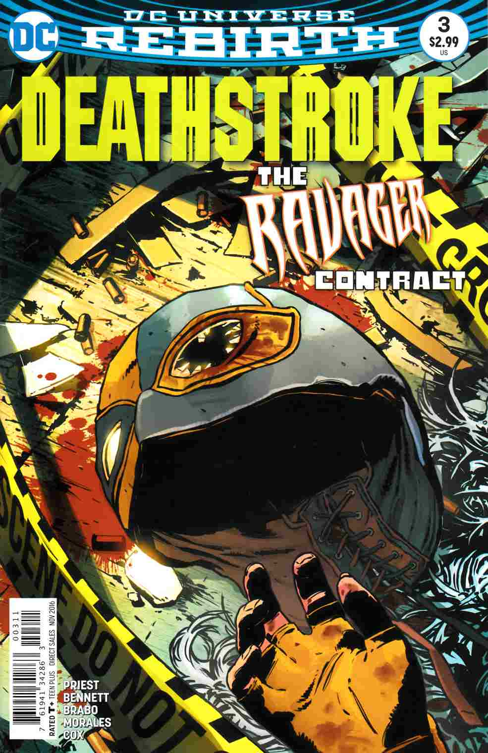 Deathstroke #3 [DC Comic] LARGE
