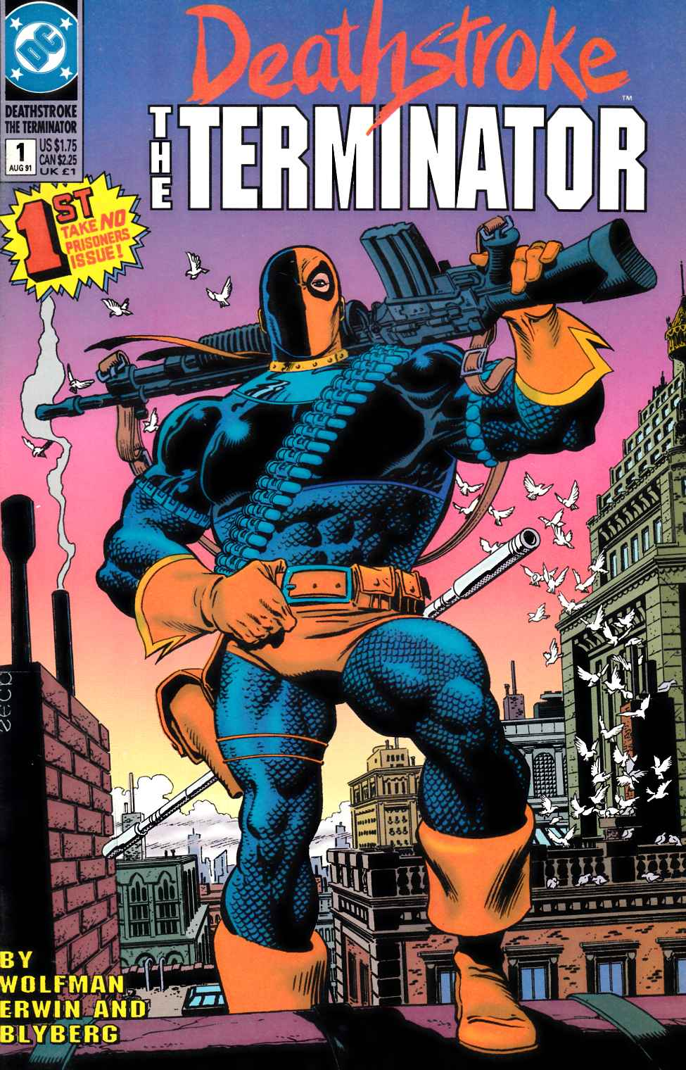 Deathstroke the Terminator #1 [DC Comic] THUMBNAIL
