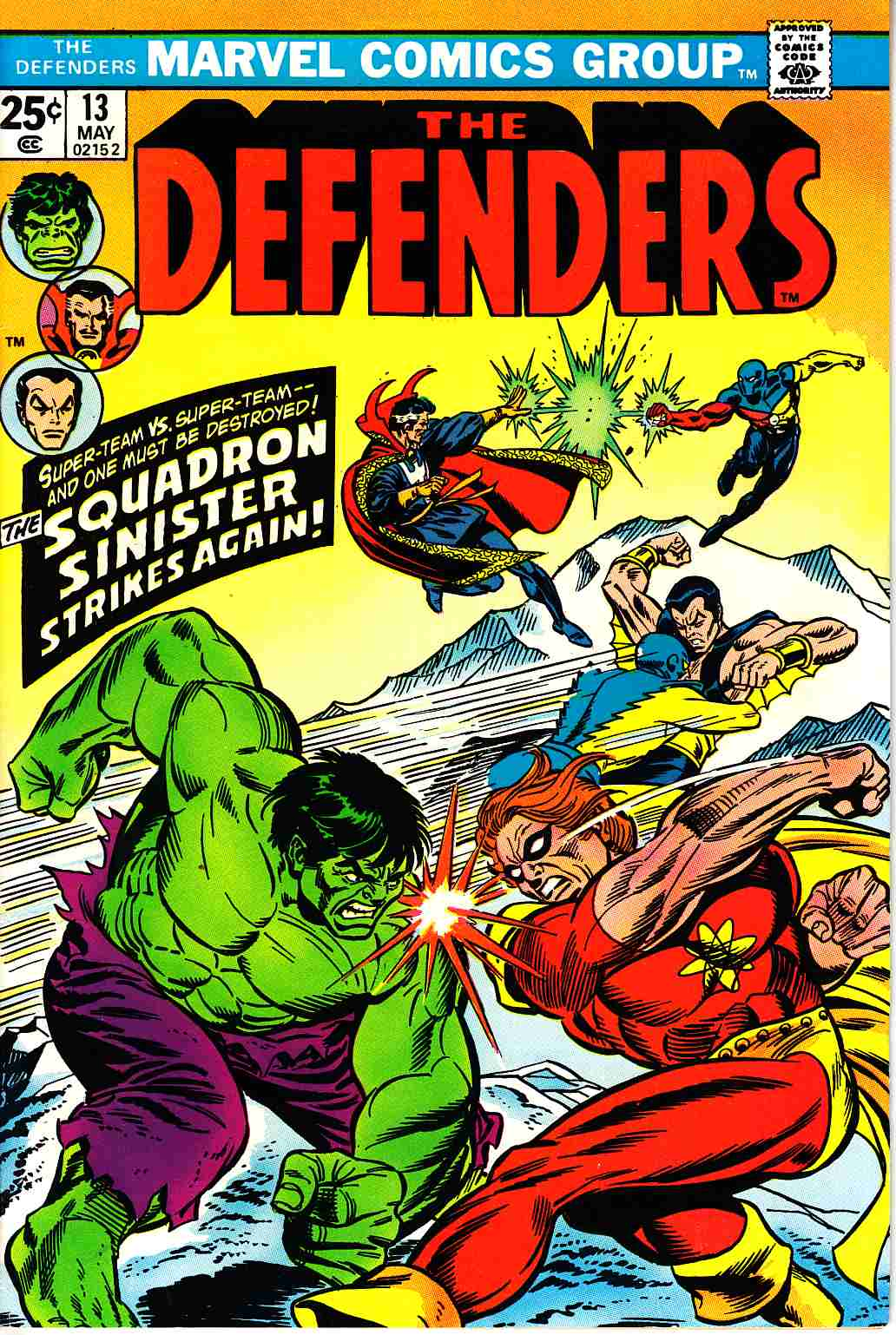 Defenders #13 Very Fine/Near Mint (9.0) [Marvel Comic]