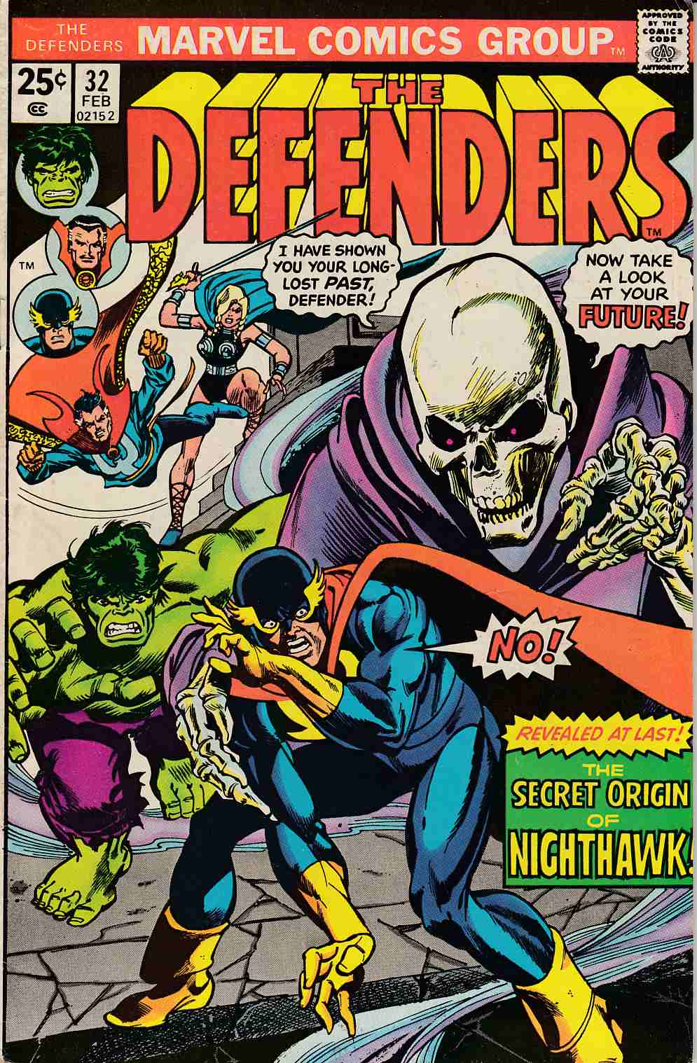Defenders #32 Fine (6.0) [Marvel Comic] LARGE