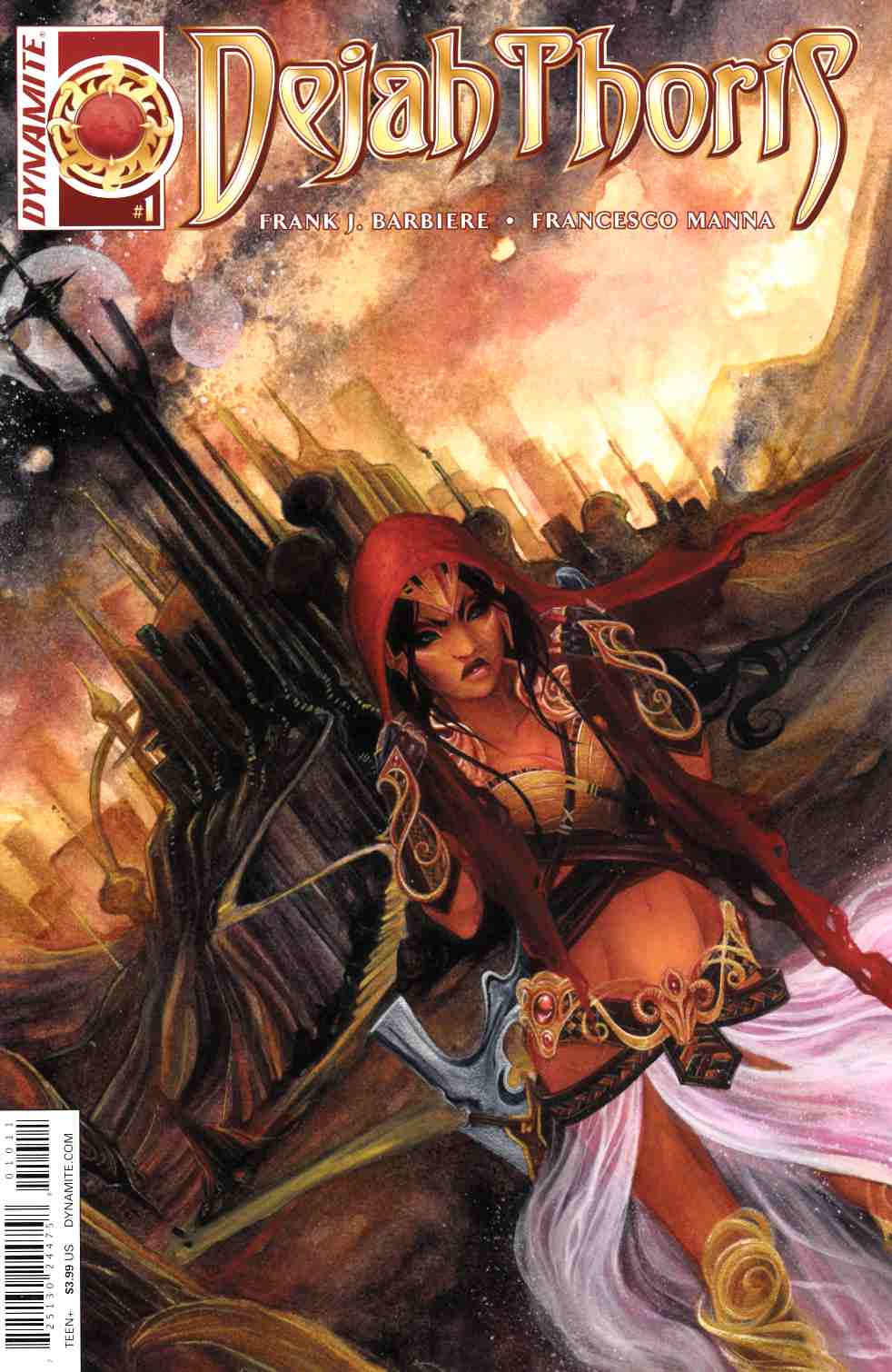 Dejah Thoris #1 Cover A- Nen [Dynamite Comic]