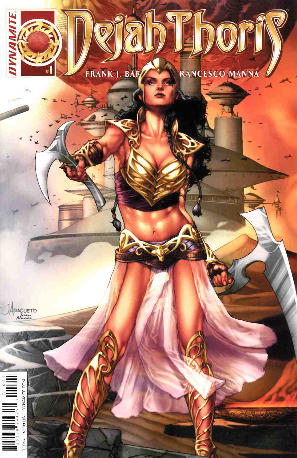 Dejah Thoris #1 Cover B- Anacleto Connect [Dynamite Comic]