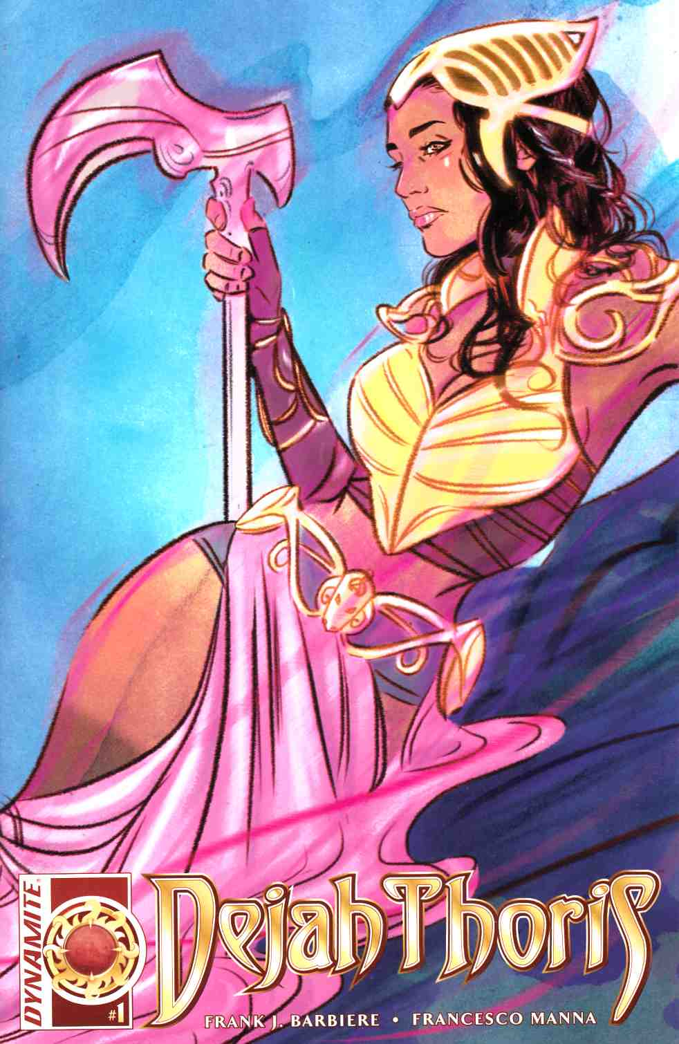 Dejah Thoris #1 Cover C- Lotay [Dynamite Comic]