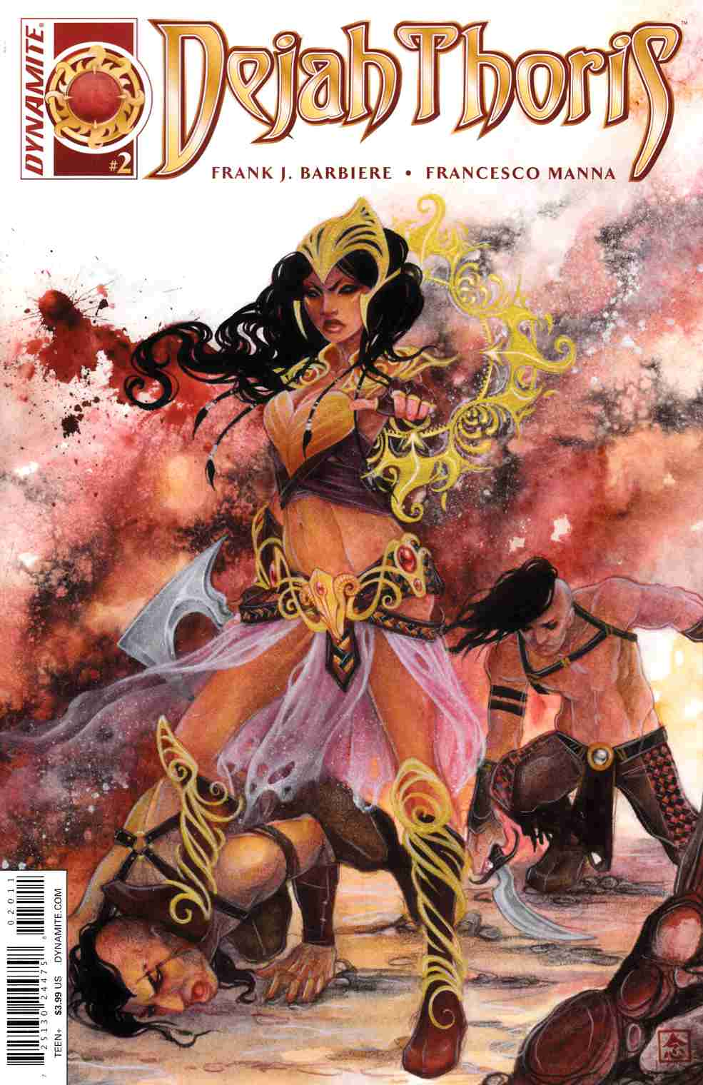 Dejah Thoris #2 Cover A- Nen [Dynamite Comic]