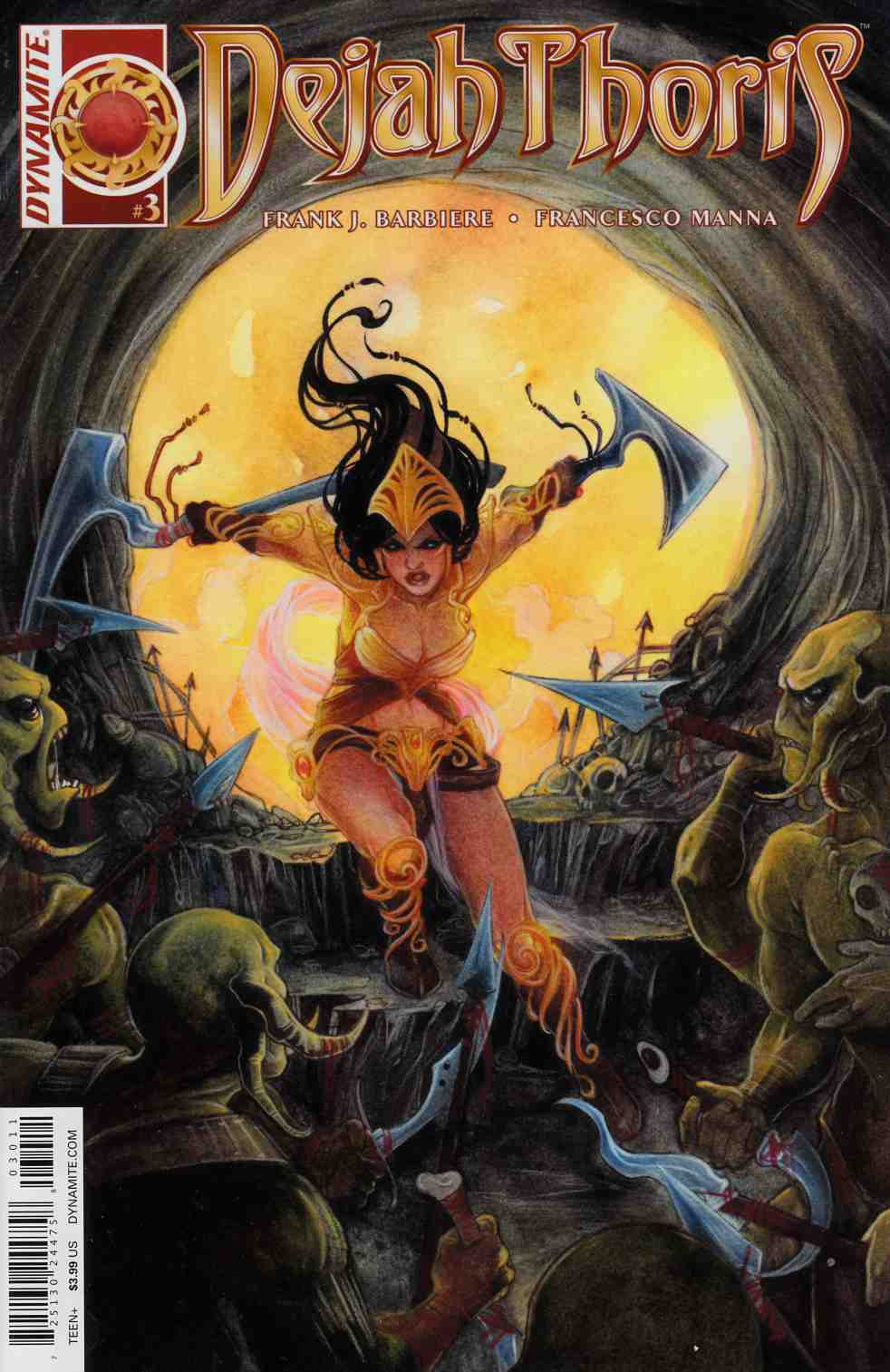 Dejah Thoris #3 [Dynamite Comic]