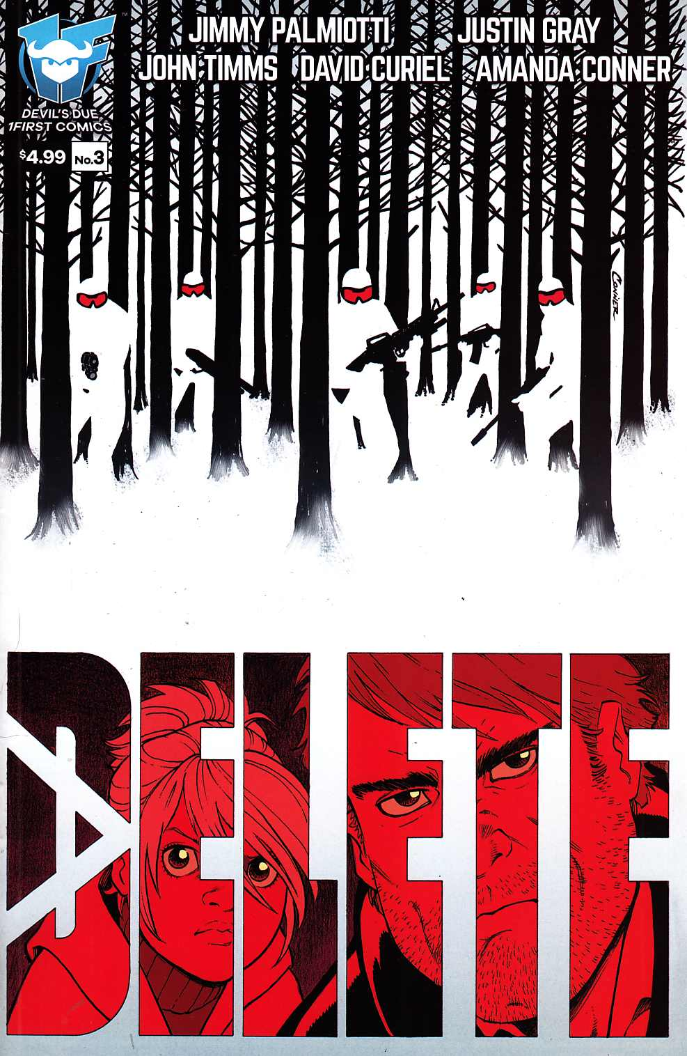 Delete #3 [Devils Due Comic] THUMBNAIL