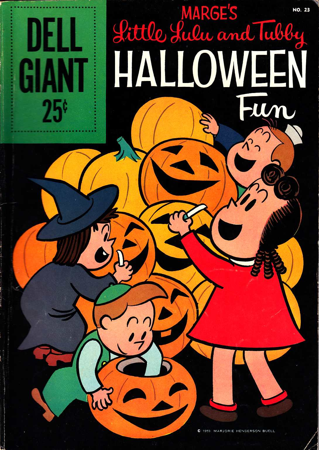 Dell Giant #23 (Lulu and Tubby Halloween Fun) [Dell Comic]_THUMBNAIL