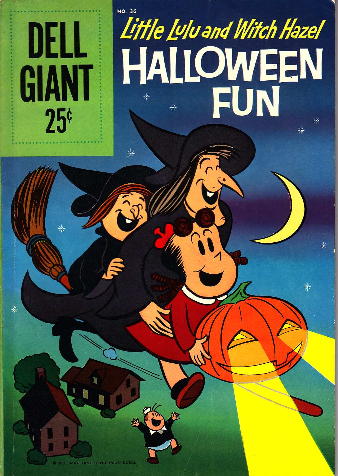 Dell Giant #36 (Lulu and Witch Hazel Halloween Fun) [Dell Comic] LARGE