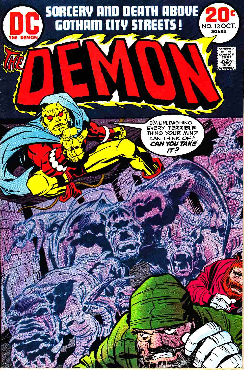 Demon #13 [DC Comic] LARGE