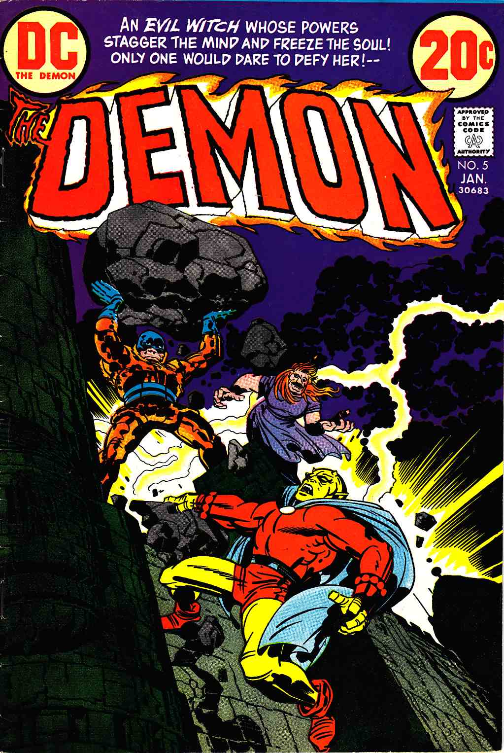 Demon #5 [DC Comic] LARGE